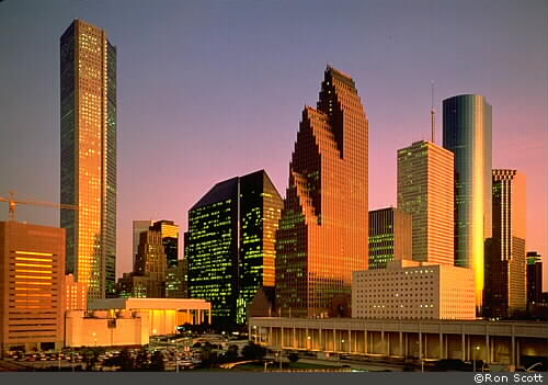 Houston Skyline ©Ron Scott