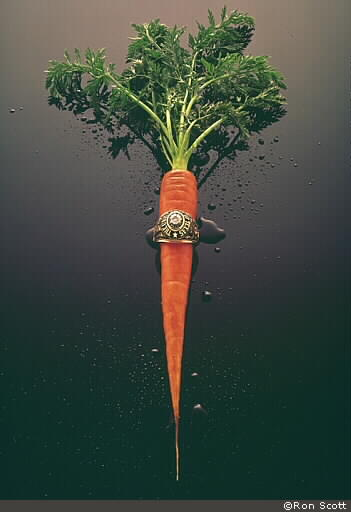 Carrot and Ring ©Ron Scott