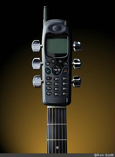 Guitar Phone ©Ron Scott