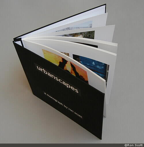 <i>urbanscapes</i> monograph book ©Ron Scott