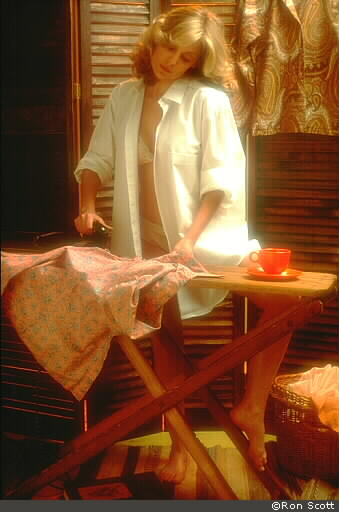 Ironing Clothes ©Ron Scott