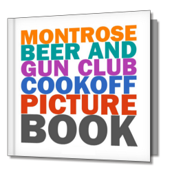MBGC Cookoff Picture Book - 1st Edition