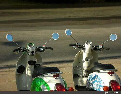 Scooter Mirrors ©Ron Scott