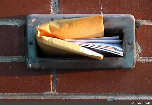 Mail Slot ©Ron Scott