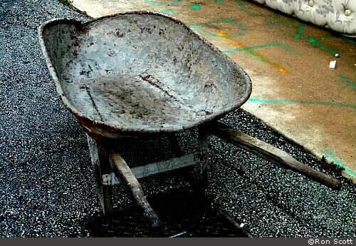 Wheel Barrow ©Ron Scott
