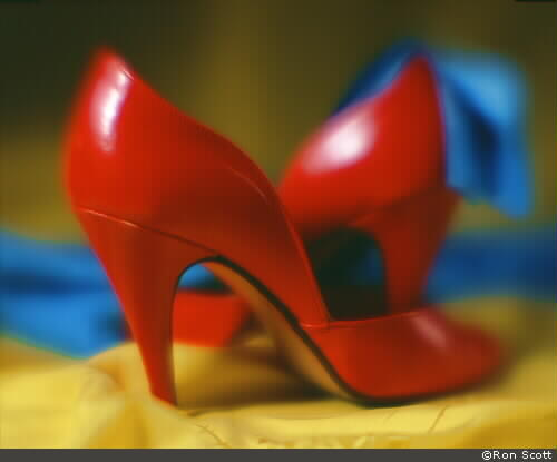 Red Shoes ©Ron Scott