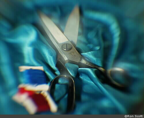 Scissors ©Ron Scott